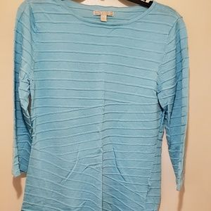 Sweater with 3/4 length sleeves